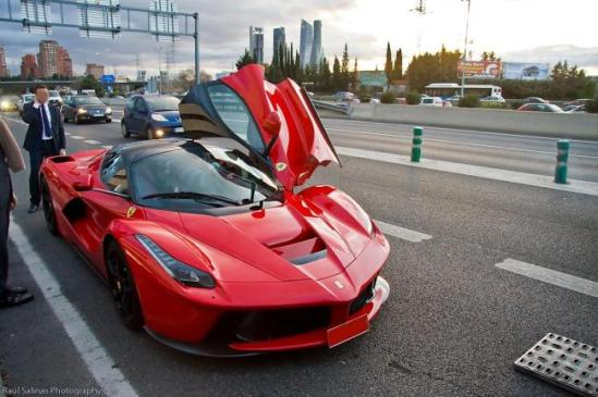 La Ferrari Madrid
